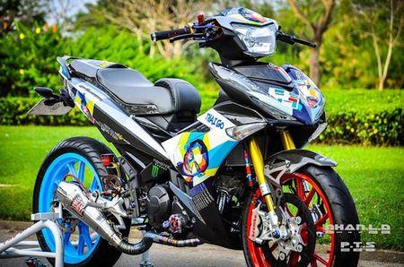 'Soi' Yamaha Exciter 150 hang khung cua biker mien Tay - Anh 1