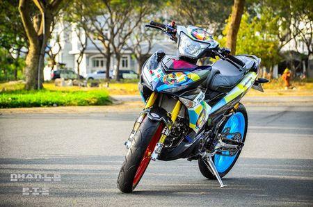 'Soi' Yamaha Exciter 150 hang khung cua biker mien Tay - Anh 2