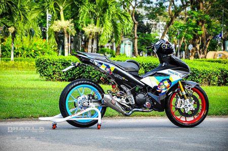 'Soi' Yamaha Exciter 150 hang khung cua biker mien Tay - Anh 3