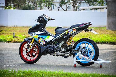 'Soi' Yamaha Exciter 150 hang khung cua biker mien Tay - Anh 6
