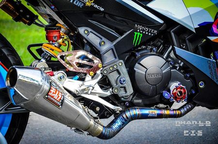 'Soi' Yamaha Exciter 150 hang khung cua biker mien Tay - Anh 7