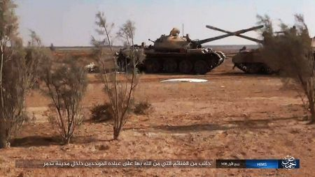 'Chet soc' so vu khi phien quan IS tom duoc o Palmyra - Anh 10