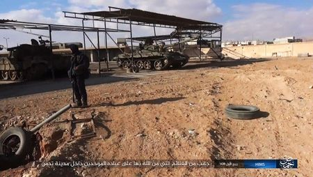 'Chet soc' so vu khi phien quan IS tom duoc o Palmyra - Anh 11