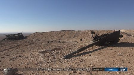 'Chet soc' so vu khi phien quan IS tom duoc o Palmyra - Anh 1