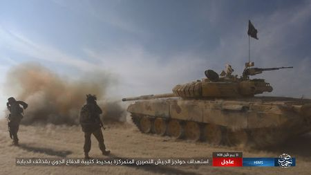 'Chet soc' so vu khi phien quan IS tom duoc o Palmyra - Anh 4