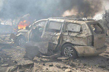 Hien truong danh bom kep o Damascus, hon 130 nguoi thuong vong - Anh 1