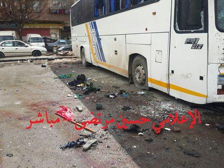 Hien truong danh bom kep o Damascus, hon 130 nguoi thuong vong - Anh 2