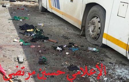 Hien truong danh bom kep o Damascus, hon 130 nguoi thuong vong - Anh 5