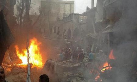 Hien truong danh bom kep o Damascus, hon 130 nguoi thuong vong - Anh 8