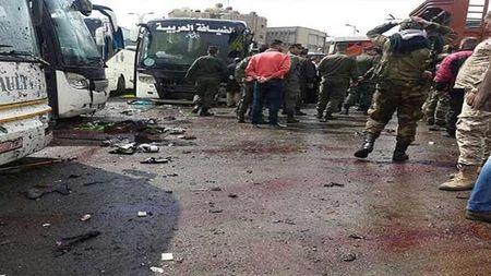Hien truong danh bom kep o Damascus, hon 130 nguoi thuong vong - Anh 9