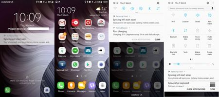 Bo doi Galaxy S6 va S6 Edge da duoc cap nhat Android 7 Nougat - Anh 1