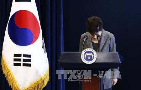 Cuu Tong thong Park Geun-hye doi mat kha nang bi dieu tra - Anh 1