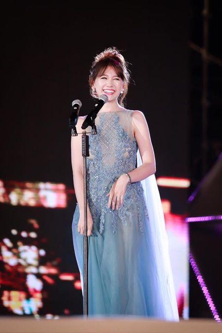 Hari Won 'len doi' thoi trang su kien sau khi lay Tran Thanh - Anh 3