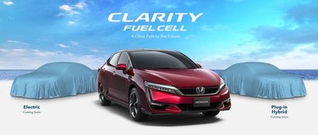 Honda Clarity PHEV & EV 'trinh lang' tai Trien lam New York 2017 - Anh 2