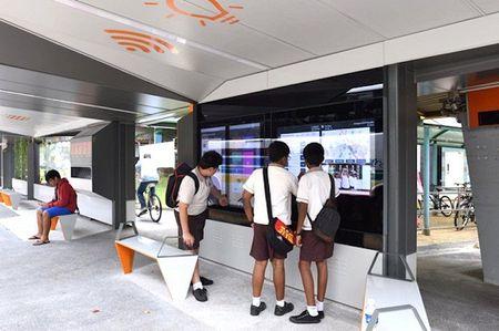 Singapore bien tram xe buyt te nhat thanh noi giai tri cong nghe cao - Anh 2