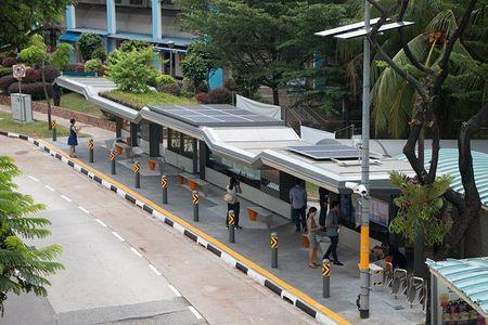 Singapore bien tram xe buyt te nhat thanh noi giai tri cong nghe cao - Anh 3