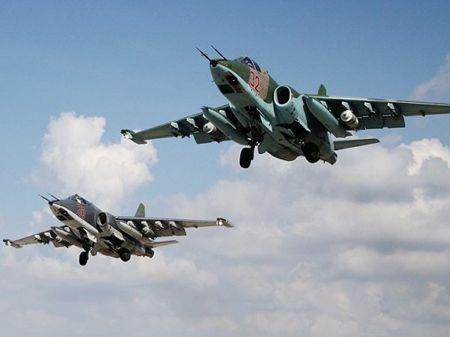 May bay Nga tien hanh gan 500 phi vu tan cong IS tai Syria - Anh 1