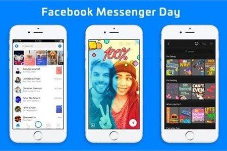 Facebook Messenger them tinh nang chia se anh, video tu huy sau 24 gio - Anh 1