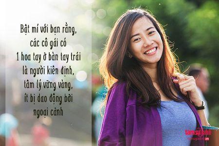 Nhin hoa tay doan tinh cach va van so cua phu nu 'chuan khong can chinh' - Anh 2