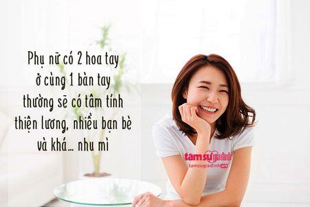 Nhin hoa tay doan tinh cach va van so cua phu nu 'chuan khong can chinh' - Anh 3