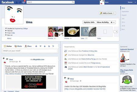 Ban thuong khoe gi tren Facebook - Anh 1