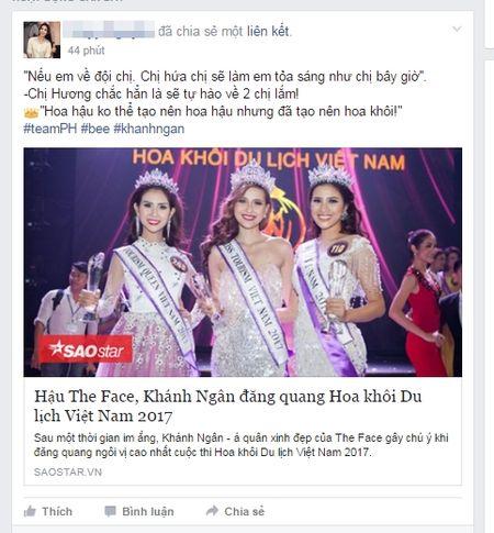 Khanh Ngan dang quang, cu dan mang ran ran nhac lai 'cau sam truyen' nam nao cua Pham Huong o The Face - Anh 4