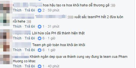 Khanh Ngan dang quang, cu dan mang ran ran nhac lai 'cau sam truyen' nam nao cua Pham Huong o The Face - Anh 7