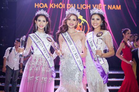Nguoi dep Khanh Ngan dang quang Hoa khoi Du lich 2017 - Anh 1