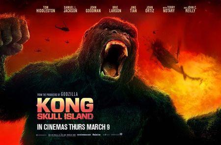Ngay dau ra rap, sieu pham 'Kong: Skull Island' kiem duoc 3,7 trieu USD - Anh 1