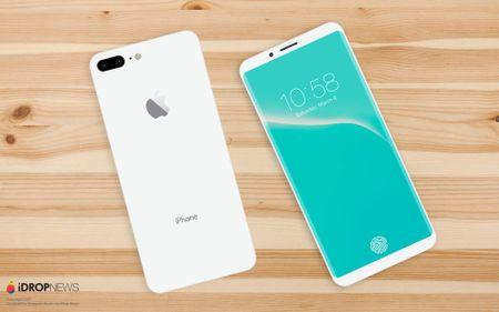 Ban dung iPhone 8 mau Jet White dep khong ti vet - Anh 1