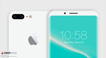 Ban dung iPhone 8 mau Jet White dep khong ti vet - Anh 2