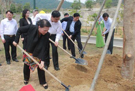 Hinh anh: Chu tich Quoc hoi tham Nha may Thuy dien Lai Chau - Anh 7