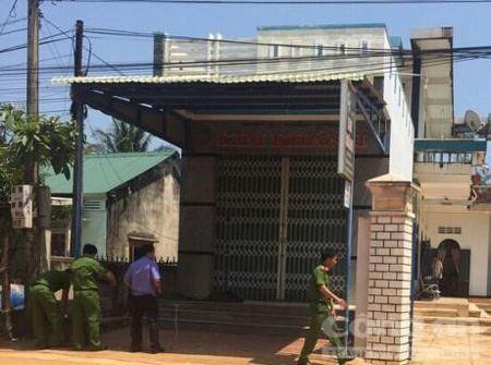 Hinh anh: Hien truong vu trom 100 luong vang o Binh Dinh - Anh 3