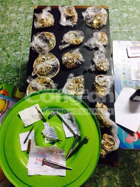Hinh anh: Hien truong vu trom 100 luong vang o Binh Dinh - Anh 5