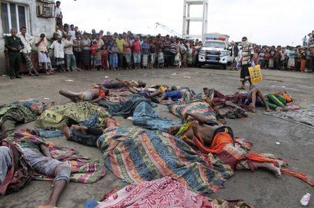 42 nguoi ti nan Somali bi ban chet ngoai khoi Yemen - Anh 1
