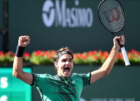 Thang thuyet phuc Wawrinka, Federer vo dich Indian Wells - Anh 1