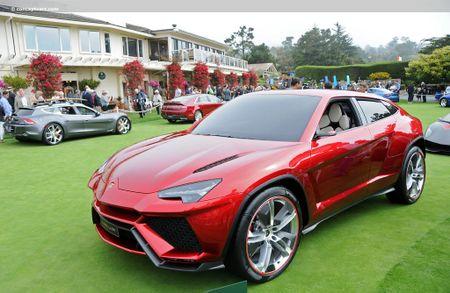 Mau xe SUV dau tien cua Lamborghini sap 'lan banh' - Anh 1
