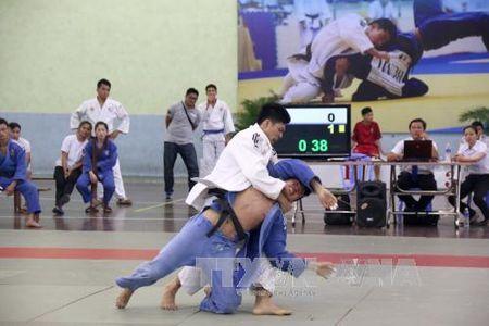 Ket thuc Giai vo dich cac cau lac bo Judo toan quoc - Anh 1