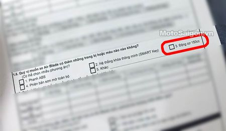 Ro tin don mau xe Air Blade 150cc moi, phia Honda Viet Nam noi gi? - Anh 1