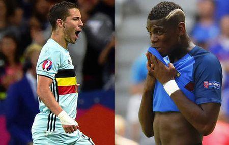 Pogba, Hazard nghi gia chan thuong: Am muu cua MU, Chelsea? - Anh 1