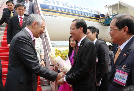 Thu tuong Singapore Ly Hien Long tham Viet Nam tu 21.3 - Anh 1