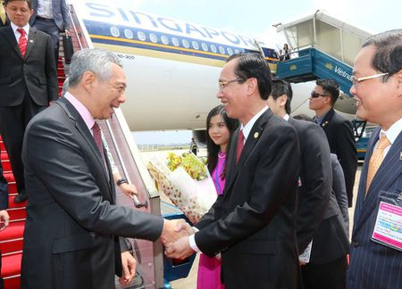 Thu tuong Singapore Ly Hien Long tham Viet Nam tu 21.3 - Anh 3