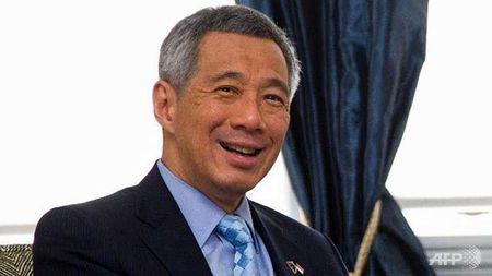 Thu tuong Singapore va Phu nhan bat dau tham chinh thuc Viet Nam - Anh 1
