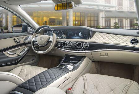 Mercedes-Maybach S 500 va S 400: Sieu xe & sieu sang - Anh 3
