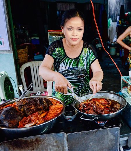 Anh che Beyonce ban banh my, Katy Perry buon khoai o Viet Nam - Anh 3