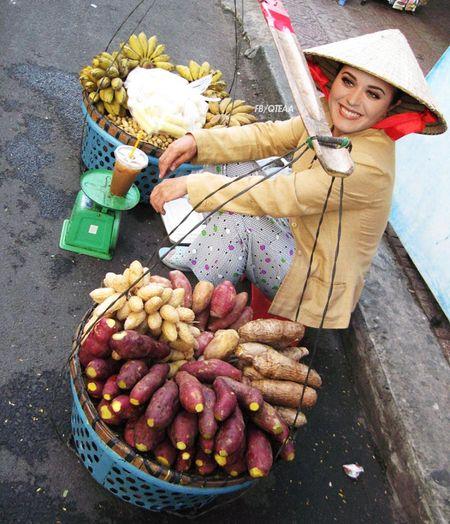 Anh che Beyonce ban banh my, Katy Perry buon khoai o Viet Nam - Anh 5