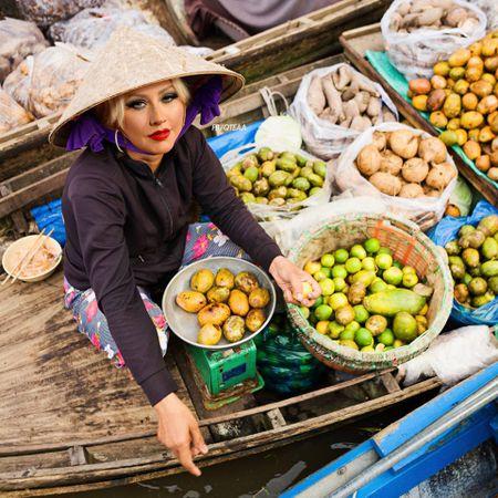 Anh che Beyonce ban banh my, Katy Perry buon khoai o Viet Nam - Anh 6