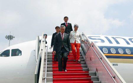 Thu tuong Singapore Ly Hien Long bat dau tham chinh thuc Viet Nam - Anh 1