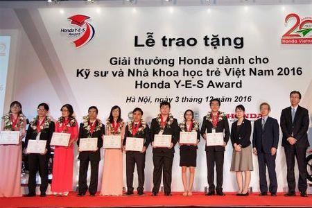 Khoi dong giai thuong Honda lan 12 danh cho cac nha khoa hoc tre Viet Nam - Anh 1