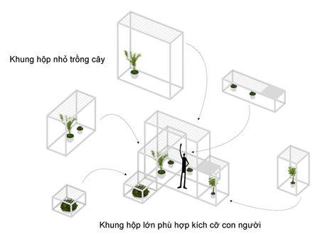 Khu 'vuon sinh thai' doc dao tren noc nha giau Ha Noi - Anh 8